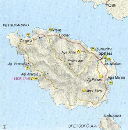 Spetses Island information